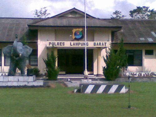Mako Polres Lampung Barat